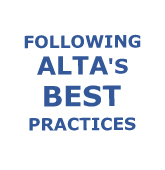 Following Alta Best Practice